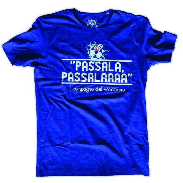 T-SHIRT PASSALA PASSALA BLU