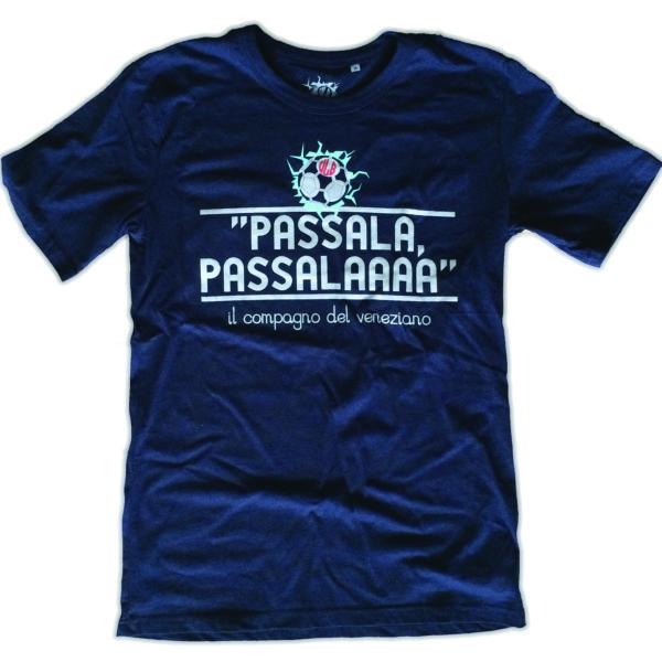 T-SHIRT PASSALA PASSALA BLU NAVY