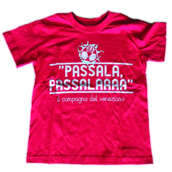 T-SHIRT PASSALA PASSALA ROSSO