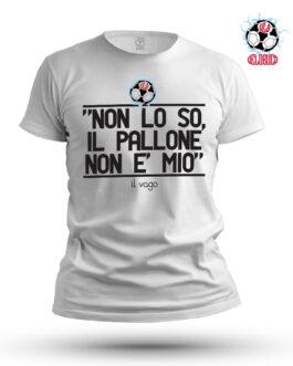 T-shirt Non lo so il pallone non è mio
